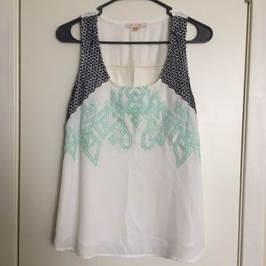Skies Are Blue | White Blouse